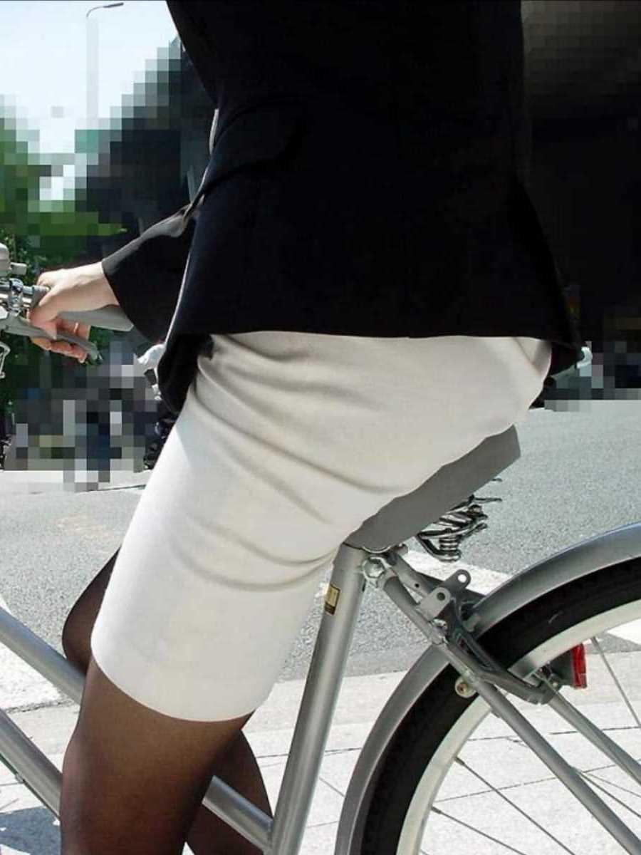 自転車OL画像 106