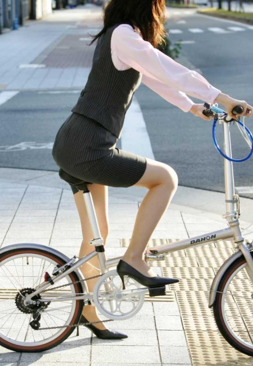 自転車OL画像 108