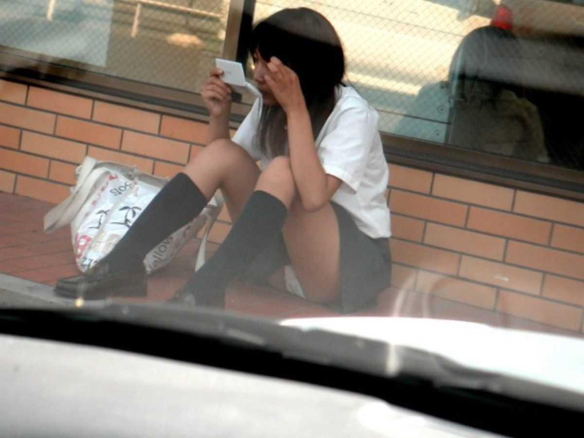 夏服JK 街撮り画像 57
