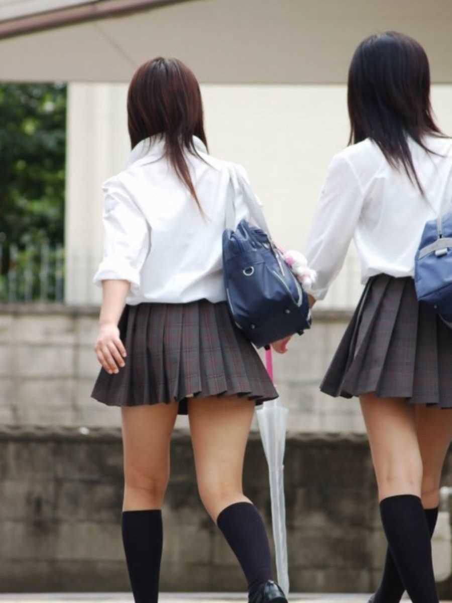 夏服JK 街撮り画像 68