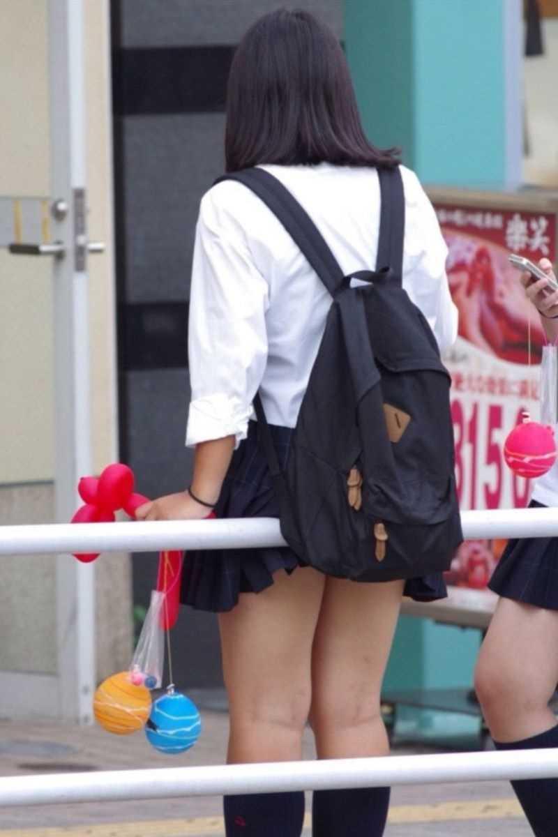 夏服JK 街撮り画像 70