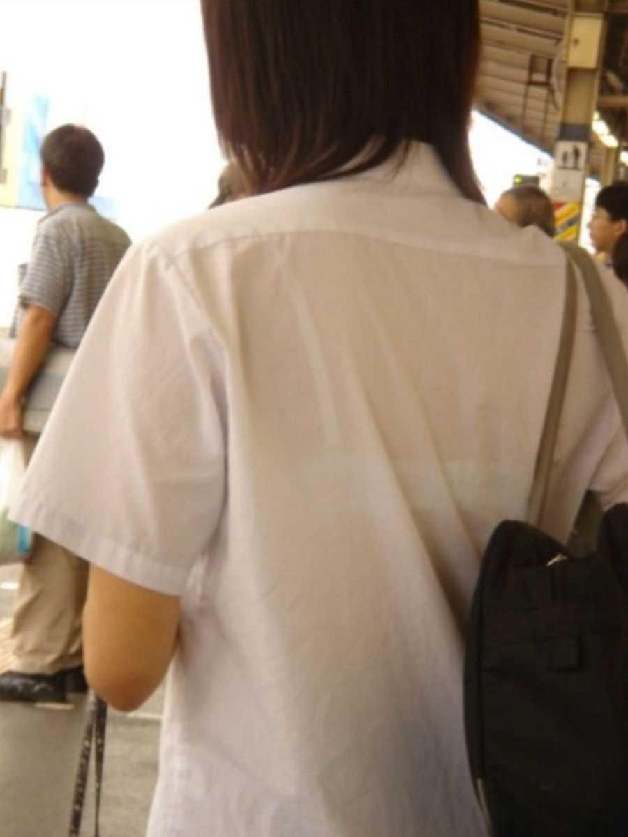 夏服JK 街撮り画像 83