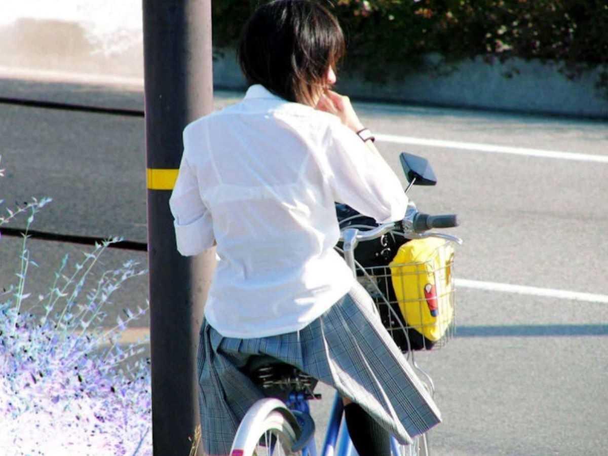 夏服JK 街撮り画像 108