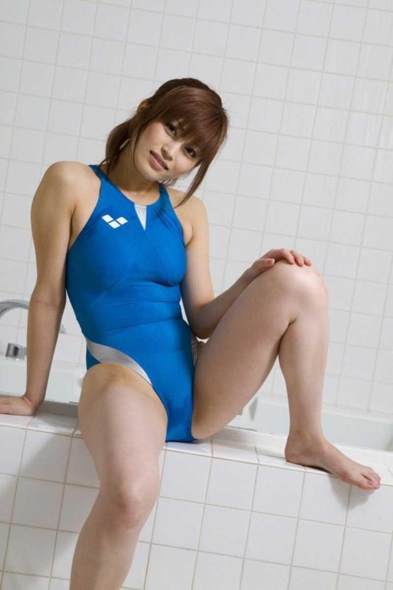 競泳水着のエロ画像 62