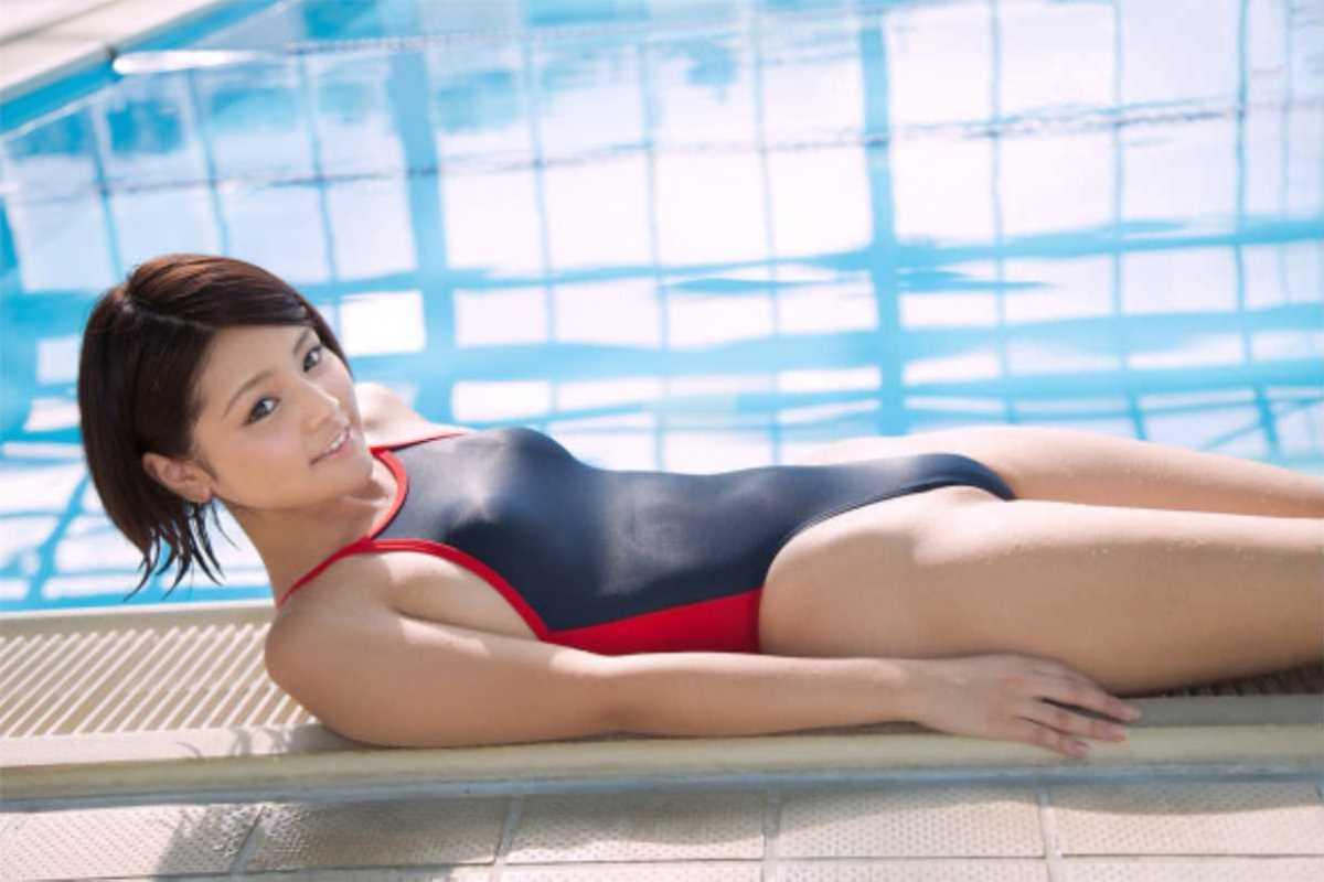 競泳水着のエロ画像 76