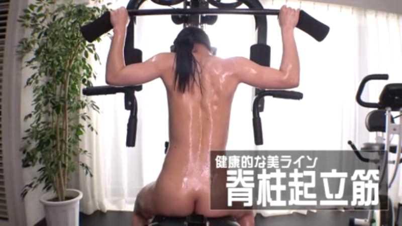 筋肉美女 沢原佑香 セックス画像 22