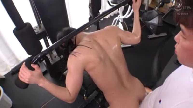 筋肉美女 沢原佑香 セックス画像 37