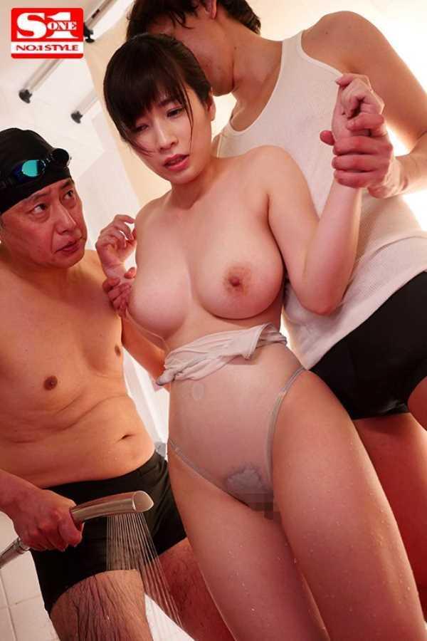 痴漢プールの競泳水着セックス画像 10
