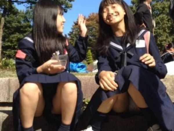 パンチラ 思春期少女 エロ画像 2