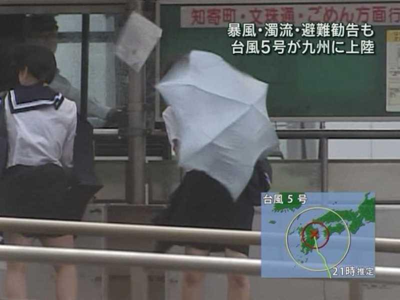 台風 エロ画像 12