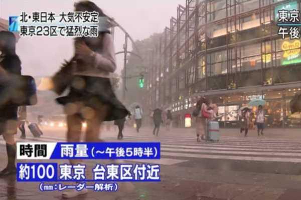 ゲリラ豪雨 エロハプニング エロ画像 2
