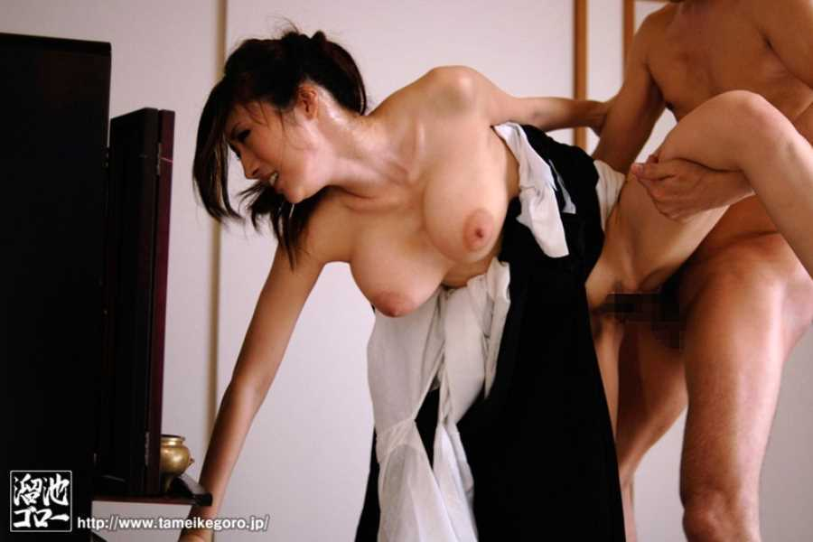 喪服 セックス画像 31