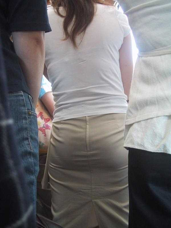 Tシャツ 透けブラ画像 37