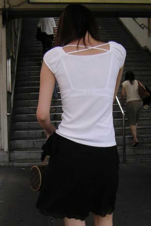 Tシャツ 透けブラ画像 38