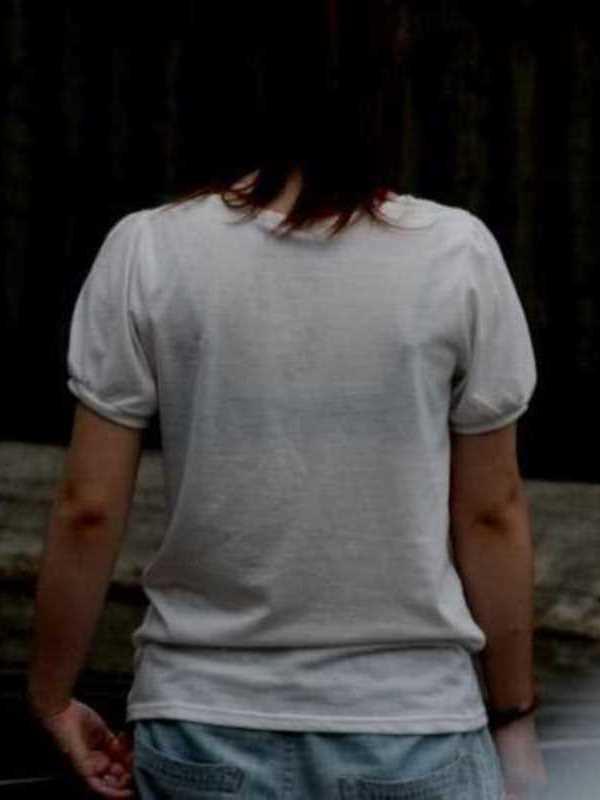Tシャツ 透けブラ画像 49