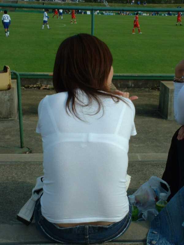 Tシャツ 透けブラ画像 68