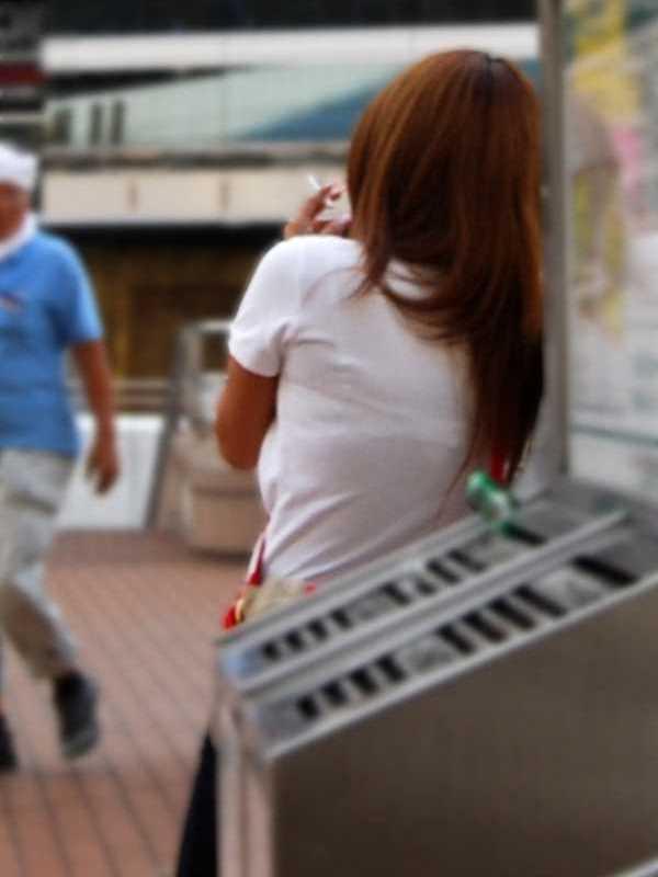 Tシャツ 透けブラ画像 89
