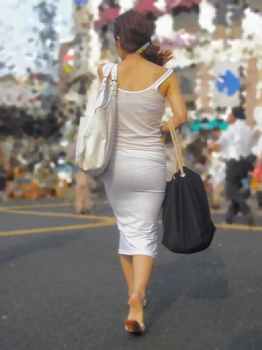 街撮り 透けパン画像 121