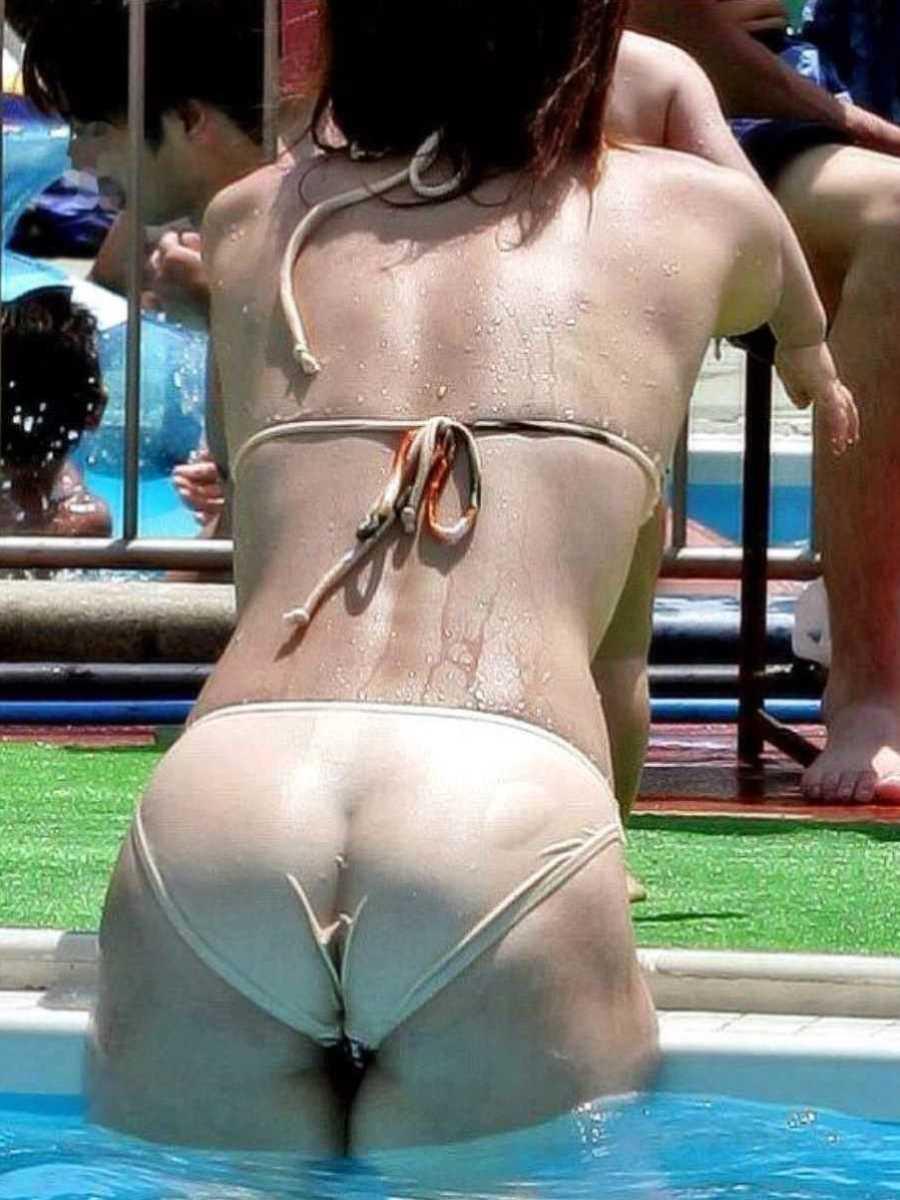 水着姿の素人エロ画像 25