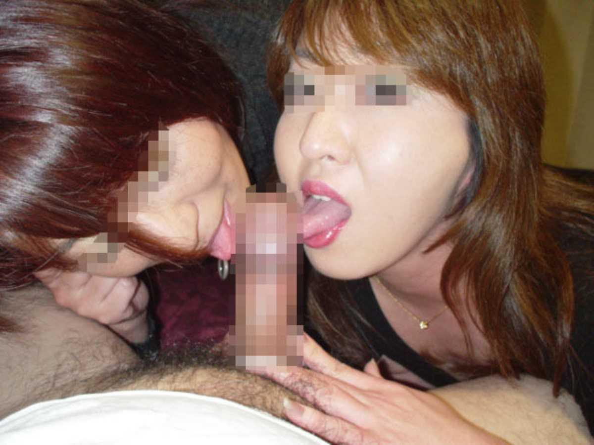 素人の3Pセックス画像 73