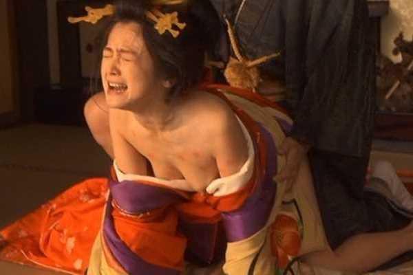 女性芸能人 犯された レイプシーン エロ画像 2