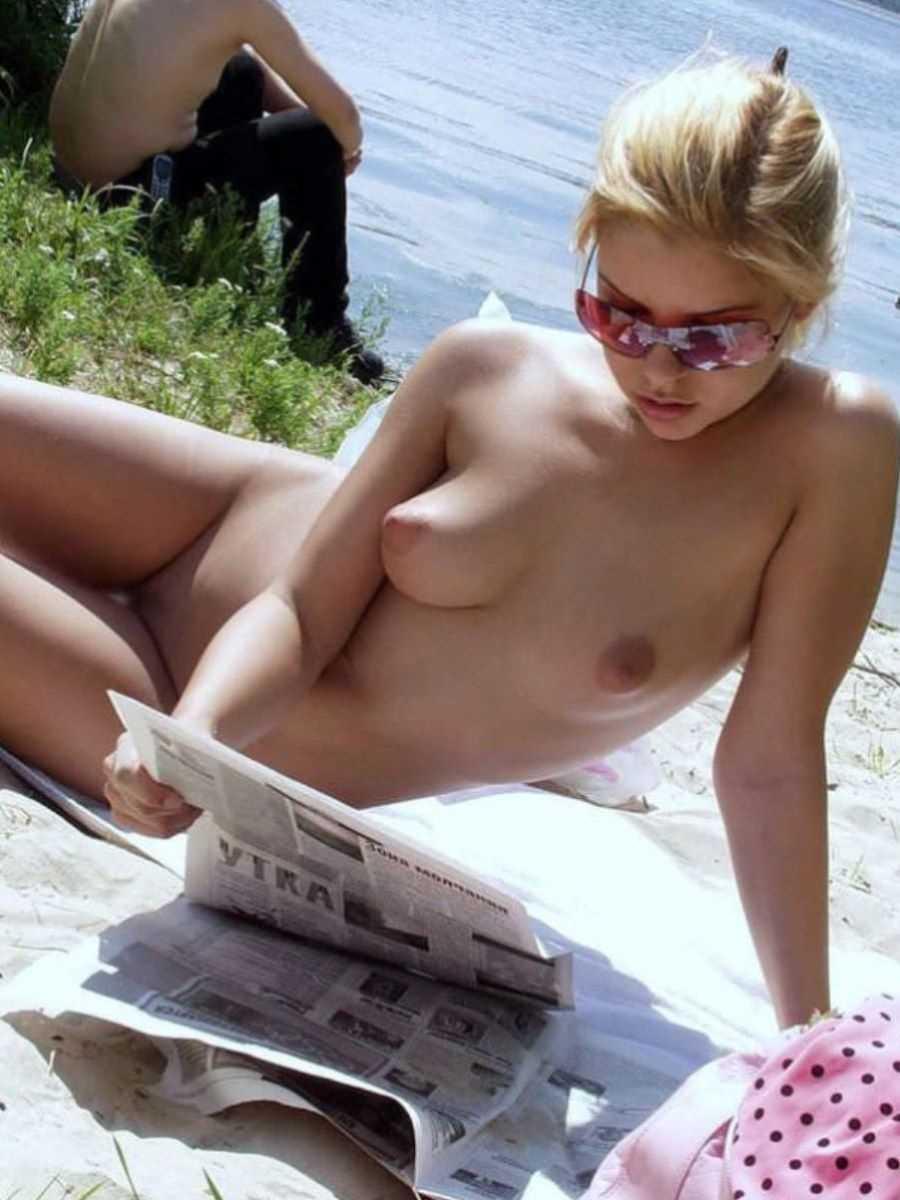 ヌーディストビーチのエロ画像 84