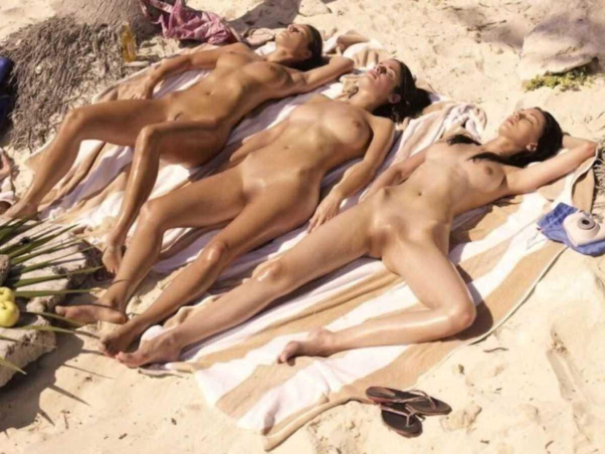 ヌーディストビーチのエロ画像 94