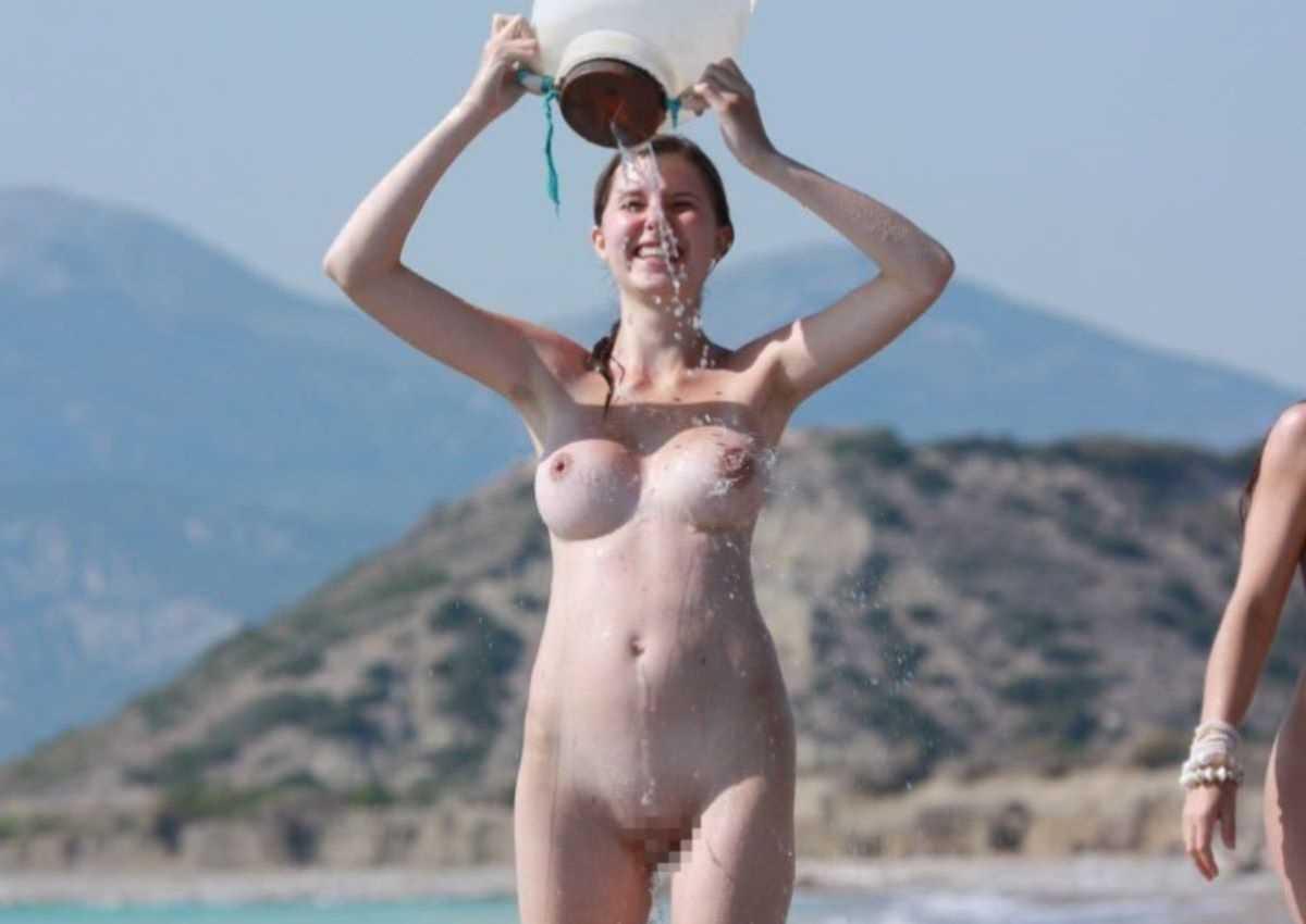 ヌーディストビーチのエロ画像 116