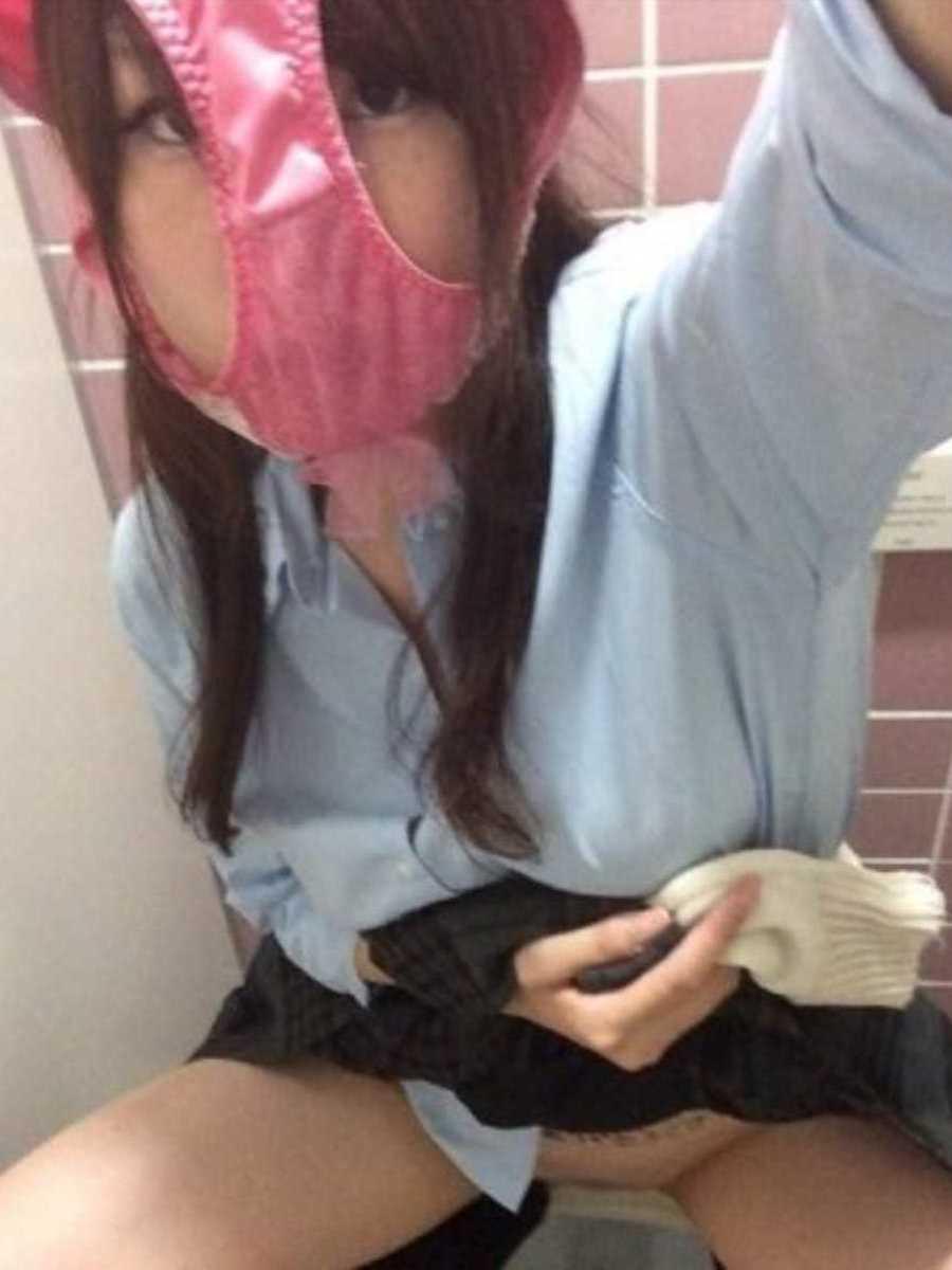 女子高生の自撮りエロ画像 12