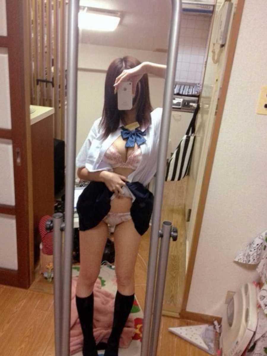 女子高生の自撮りエロ画像 117