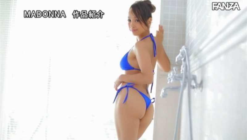 人妻水着モデル 新山リオ セックス画像 28