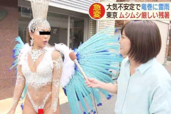 浅草サンバカーニバルでハミマン放送事故…(※エロ画像あり)
