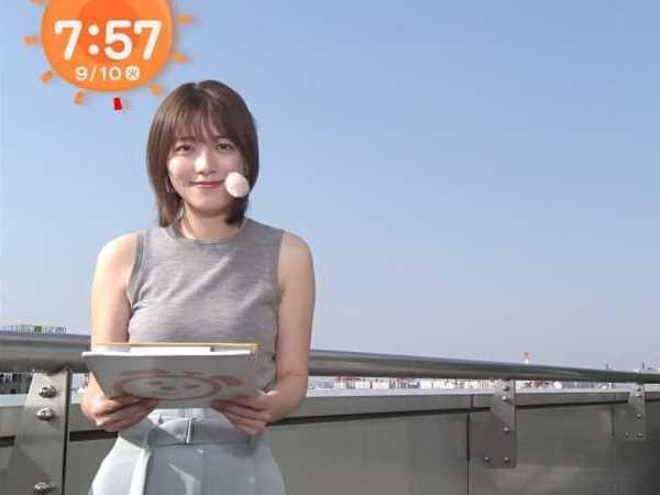 巨乳 女子アナ 阿部華也子 エロ画像 1