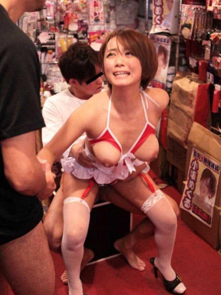 店内 セックス画像 25