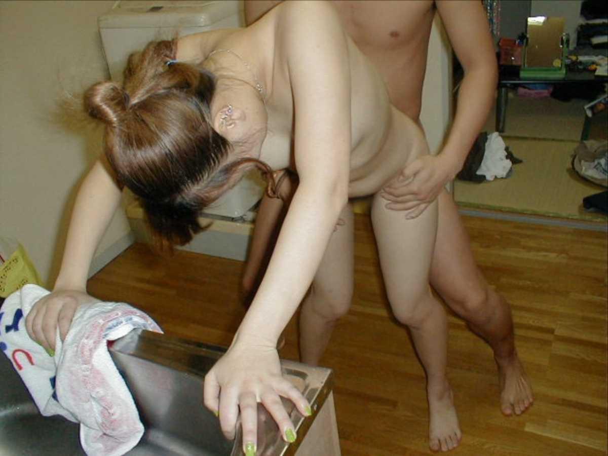 台所でのセックス画像 17