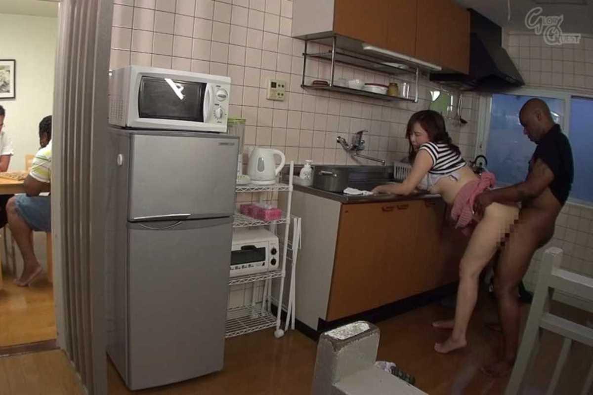 台所でのセックス画像 41