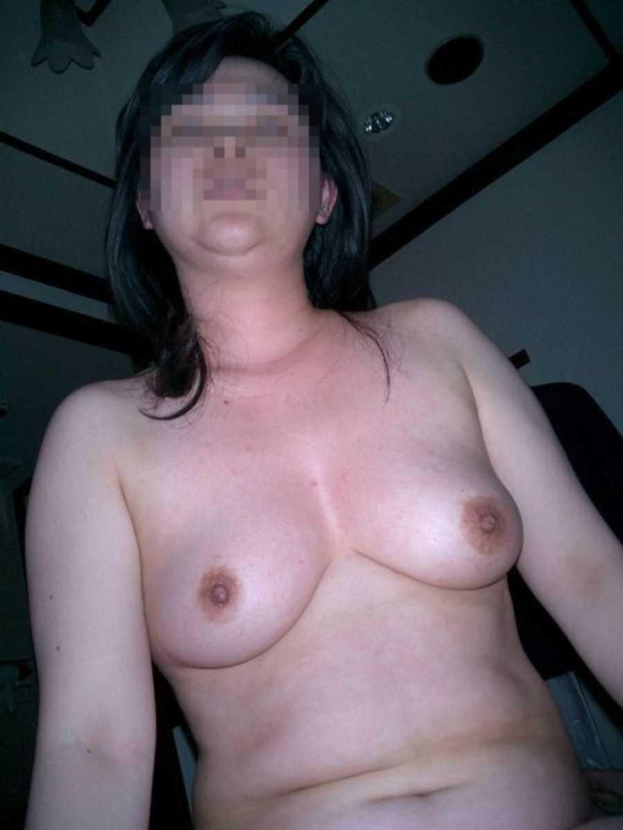垂れ乳の人妻エロ画像 91