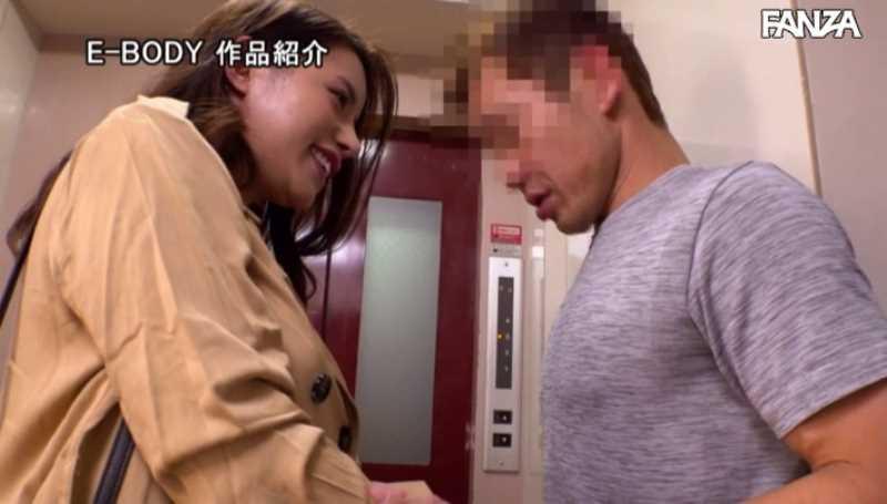 痴女妻とギン勃ち学生の男子寮セックス画像 16
