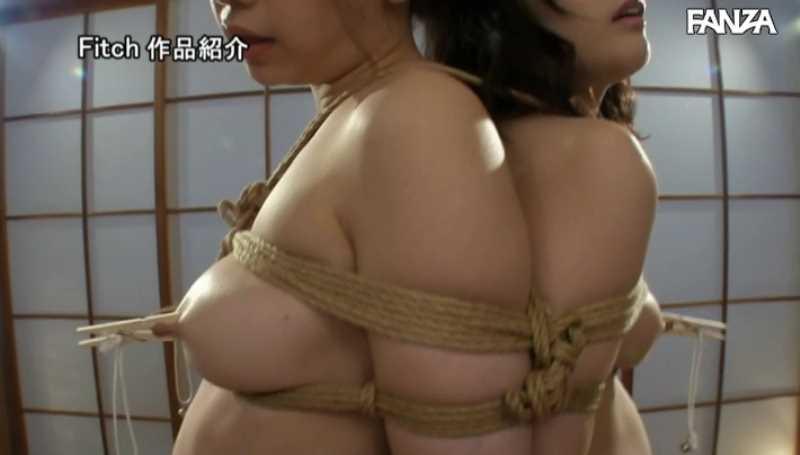 巨乳の若妻を変態調教したエロ画像 64