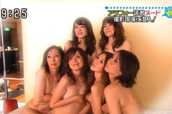 テレビで裸になった素人女性がコチラ…(※エロ画像あり)