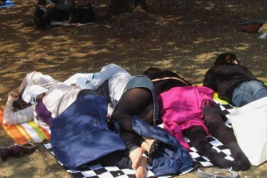 寝転びパンチラのエロ画像 54