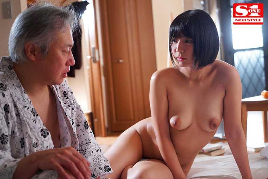 おじいちゃんと介護ヘルパーのセックス画像 4