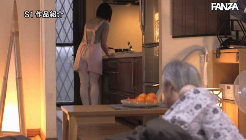 おじいちゃんと介護ヘルパーのセックス画像 13