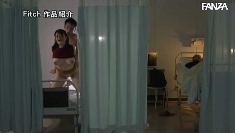 病院内の不倫セックス画像 54