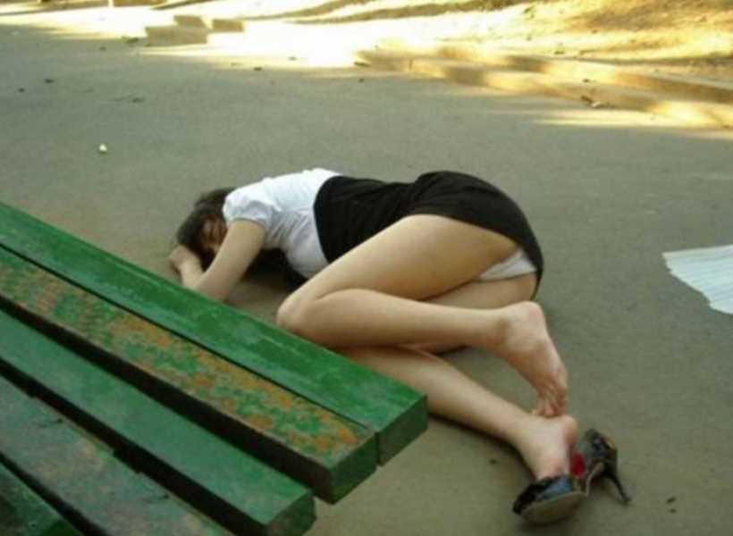 素人女性の泥酔エロ画像 112