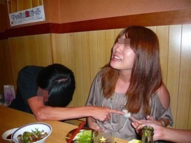 素人女性の泥酔エロ画像 123