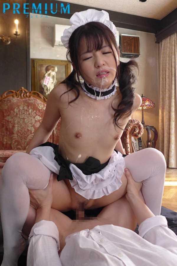 ラブドールのような貧乳メイドの輪姦エロ画像 6