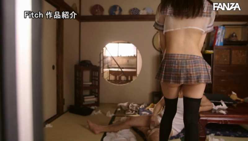お爺ちゃんと純朴少女のセックス画像 47