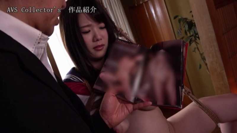 爆乳JKの制服緊縛エロ画像 27