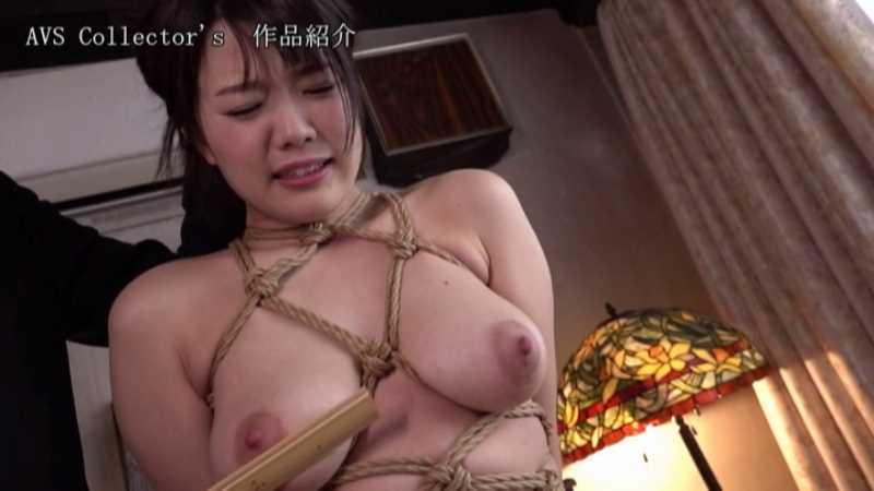 爆乳JKの制服緊縛エロ画像 44